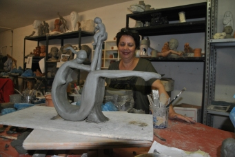 Liveflorencetours. Sculpture Rosella DiMattia