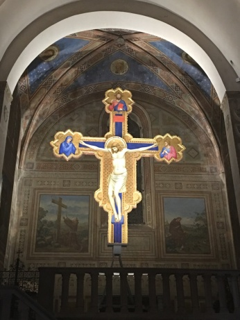 Liveflorencetours. Giotto Crocifisso