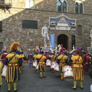 September 2019 Traditional festival in Piazza Signoria