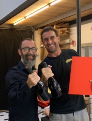 LiveFlorenceTours celebrating with Patrizio Travagli & Jonathan 2019