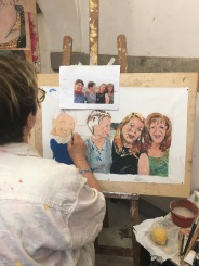 LiveFlorenceTours Contemporary painting classes at AD'A