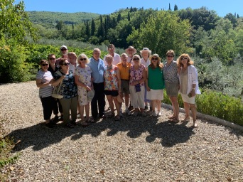 LiveFlorenceTours group outing in Fiesole 2019